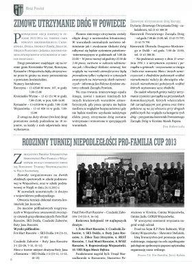 Nasz powiat Nr6 XI-XII 2013 strona 6