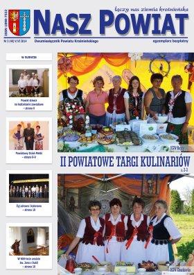 Nasz Powiat czerwiec 2014 strona 1