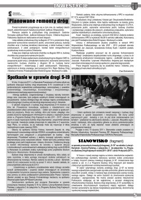 Nasz Powiat I-II 2011 strona 5