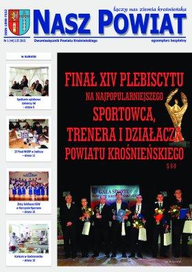Nasz Powiat 1 2015 strona 1