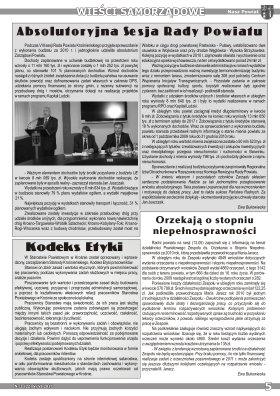 Nasz Powiat nr 3 V VI 2011 strona 5