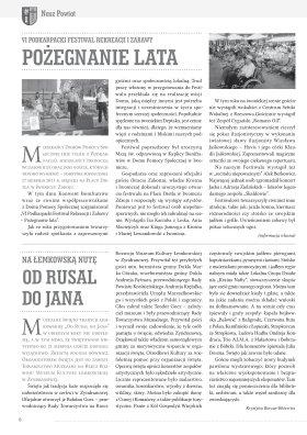 Nasz Powiat nr 4 VII VIII 2011 strona 6