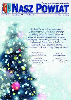 Nasz Powiat Nr 5 (66) XII 2018 strona 1