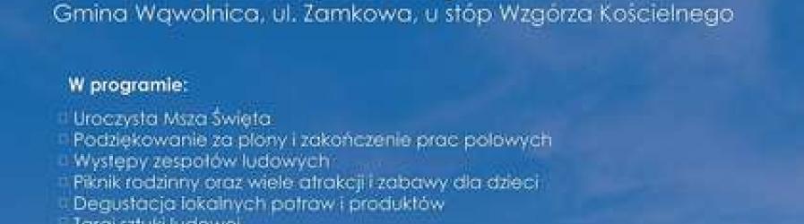 """Zaproszenie na pierwsze ogólnopolskie święto """"Wdzięczni Polskiej Wsi"""""""