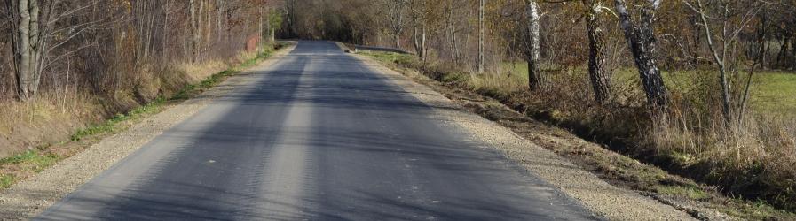 Kolejne odcinki dróg powiatowych doczekały się remontu