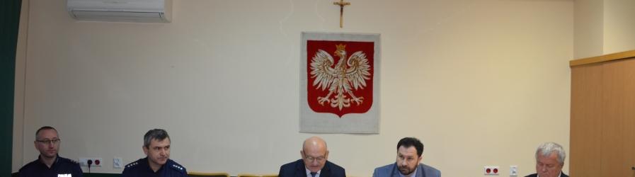 Posiedzenie Wpólnej Komisji Bezpieczeństwa i Porządku