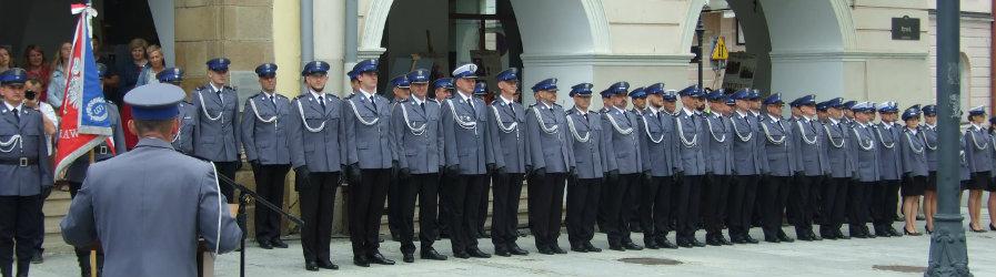 Obchody Święta Policji w Krośnie