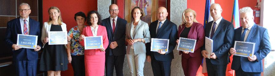 Wsparcie dla Powiatu i lokalnych samorządów z Funduszu Dróg Samorządowych