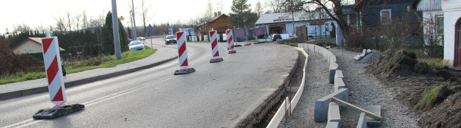 Wkrótce nowe chodniki przy drogach powiatowych