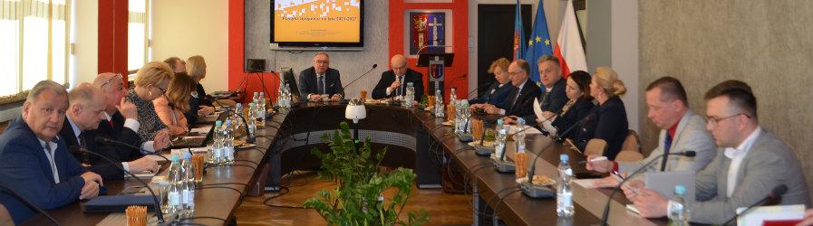 Posiedzenie Komisji Rozwoju Regionalnego Województwa Podkarpackiego w Powiecie Krośnieńskim