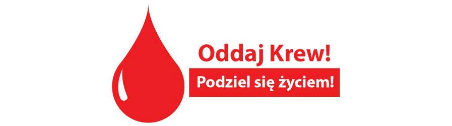 Akcja honorowego oddania krwi - zaproszenie