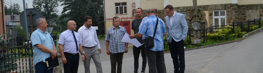 Przebudowa drogi powiatwej w Klimkówce